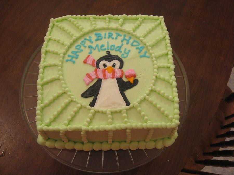 Penguin Jammies on Cake Central