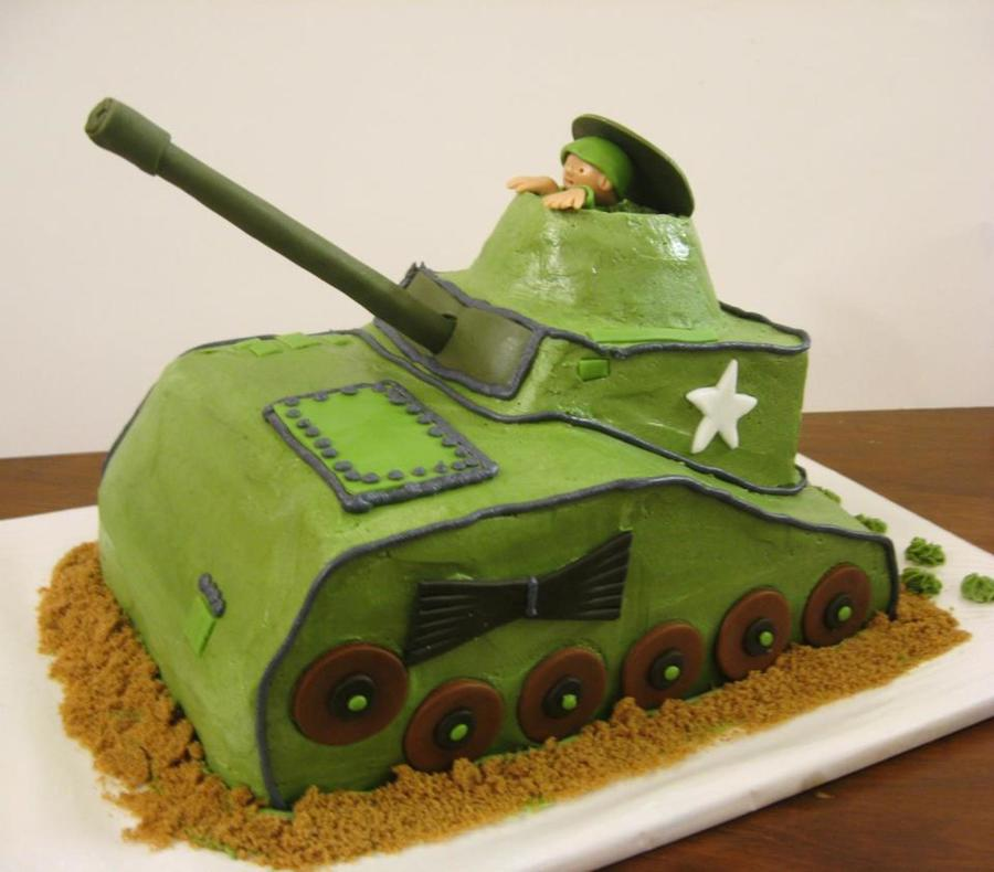 Zebedee's Tank  on Cake Central