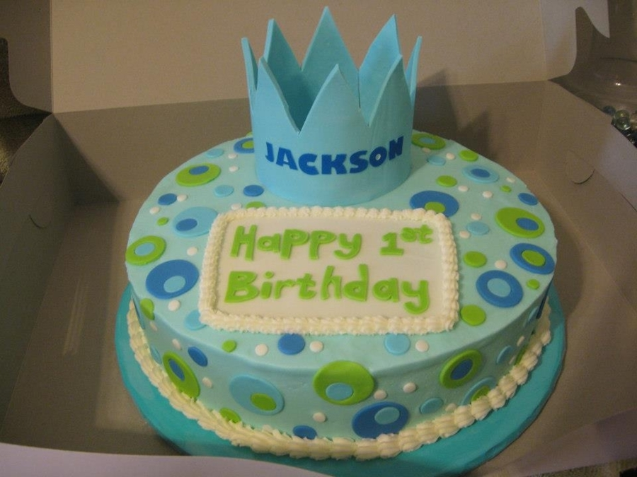 Jackson's 1St  on Cake Central