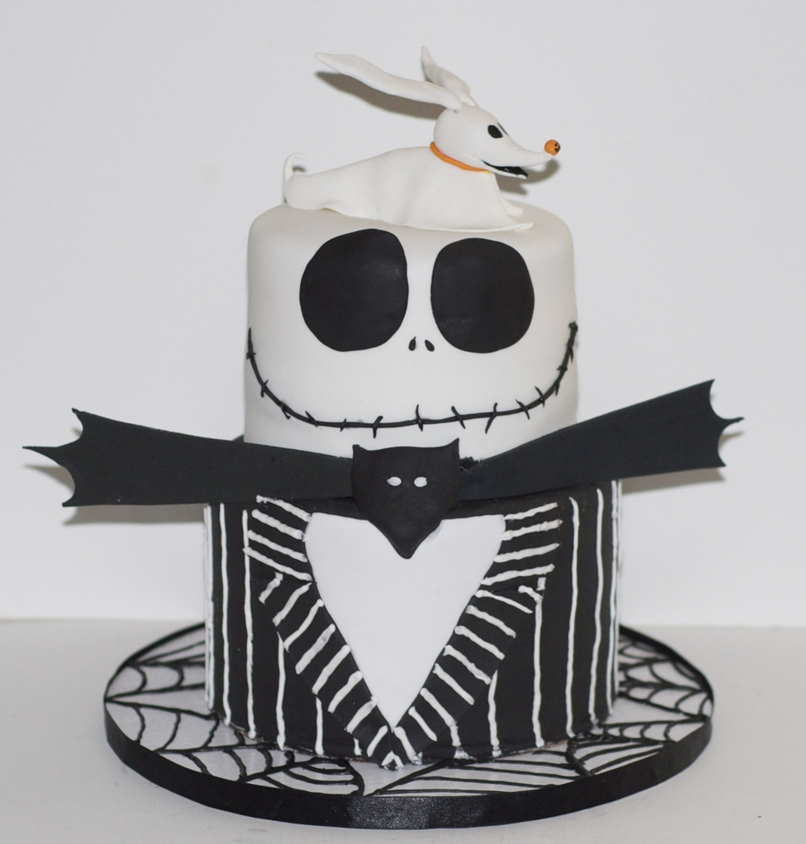 Nightmare Before Christmas Birthday Cake on Cake Central