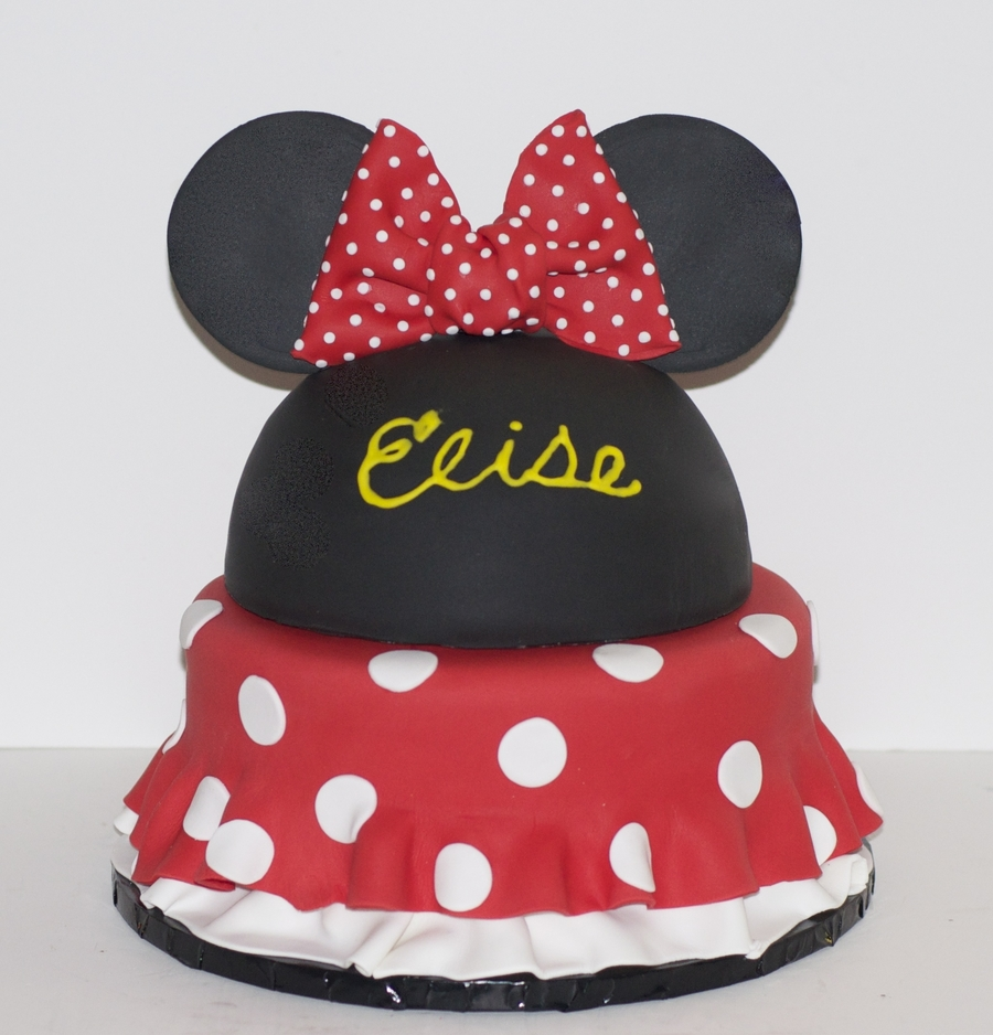 Minnie Mouse Birthday Cake on Cake Central