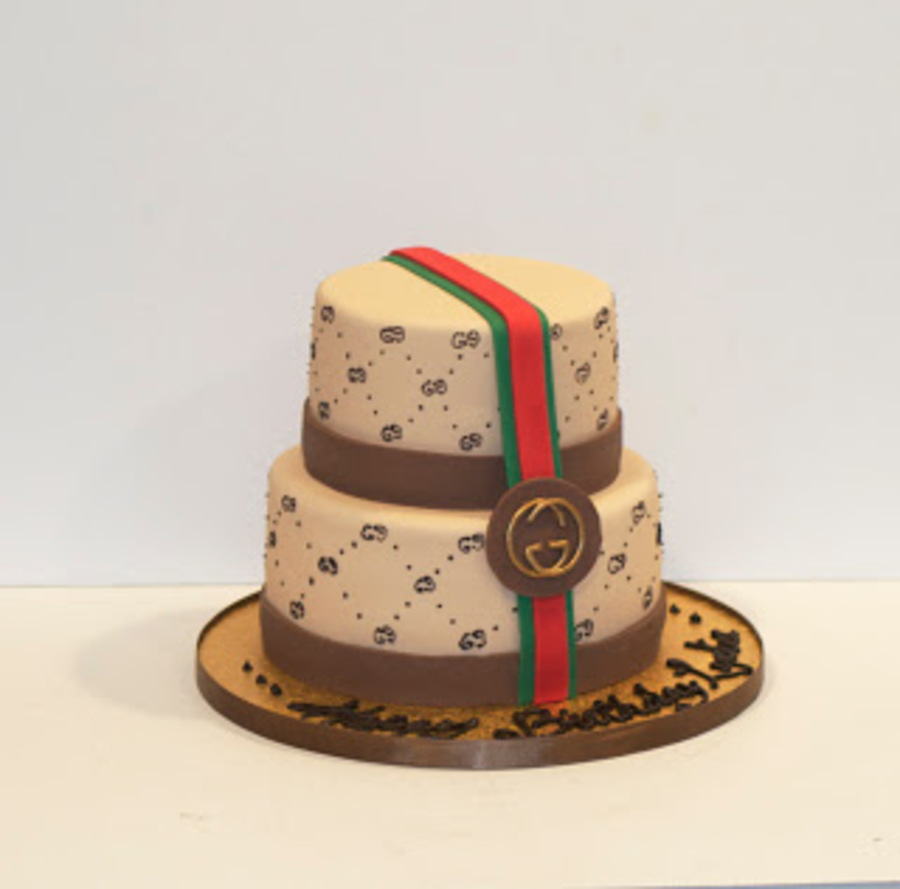 Gucci Cake Design