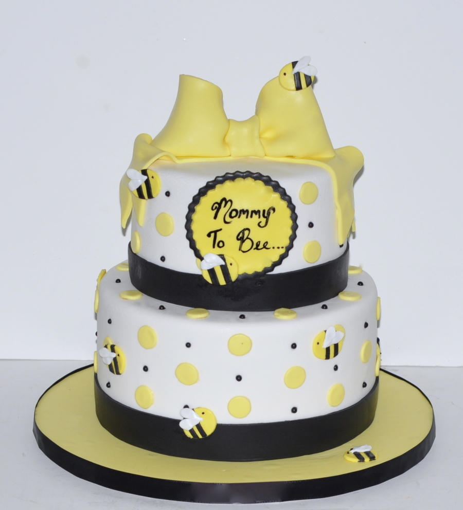 Mommy To Bee Baby Shower Cake On Central