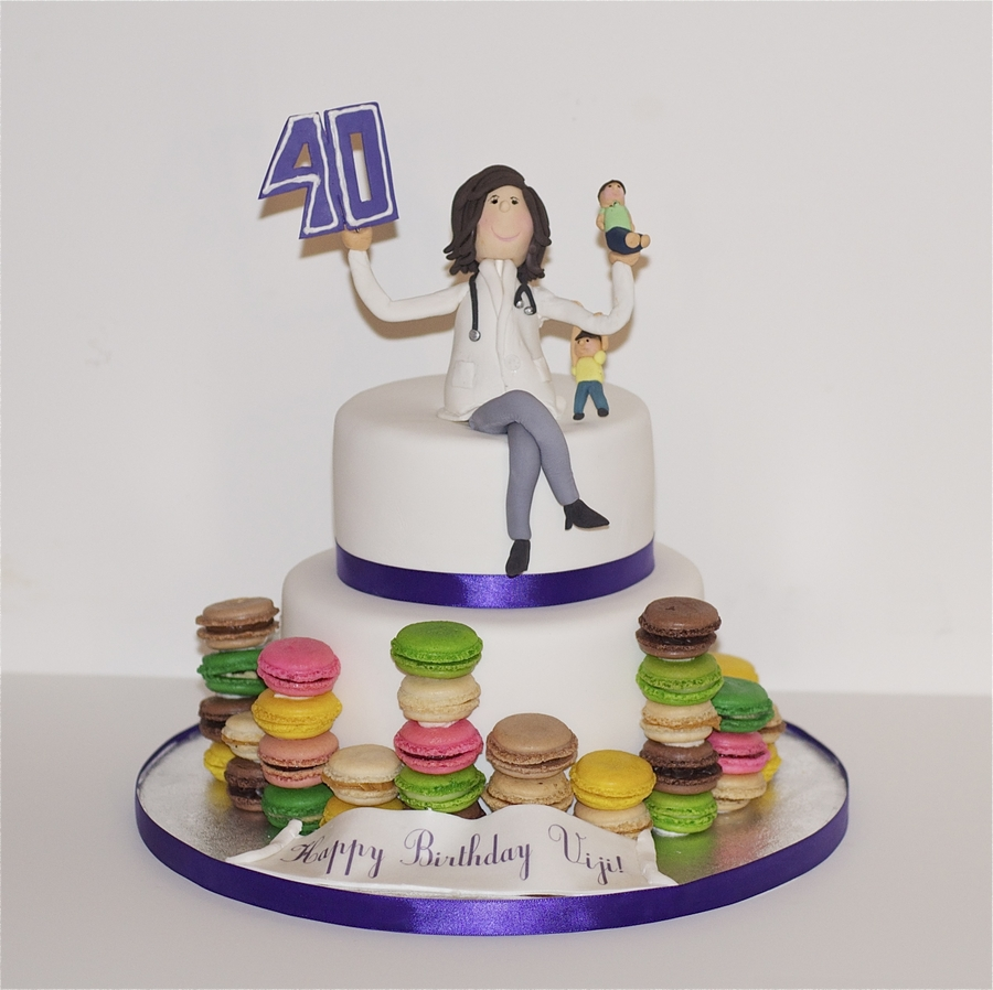Celebrating The Birthday Of A Woman Wife Doctor Mother Of 2 And