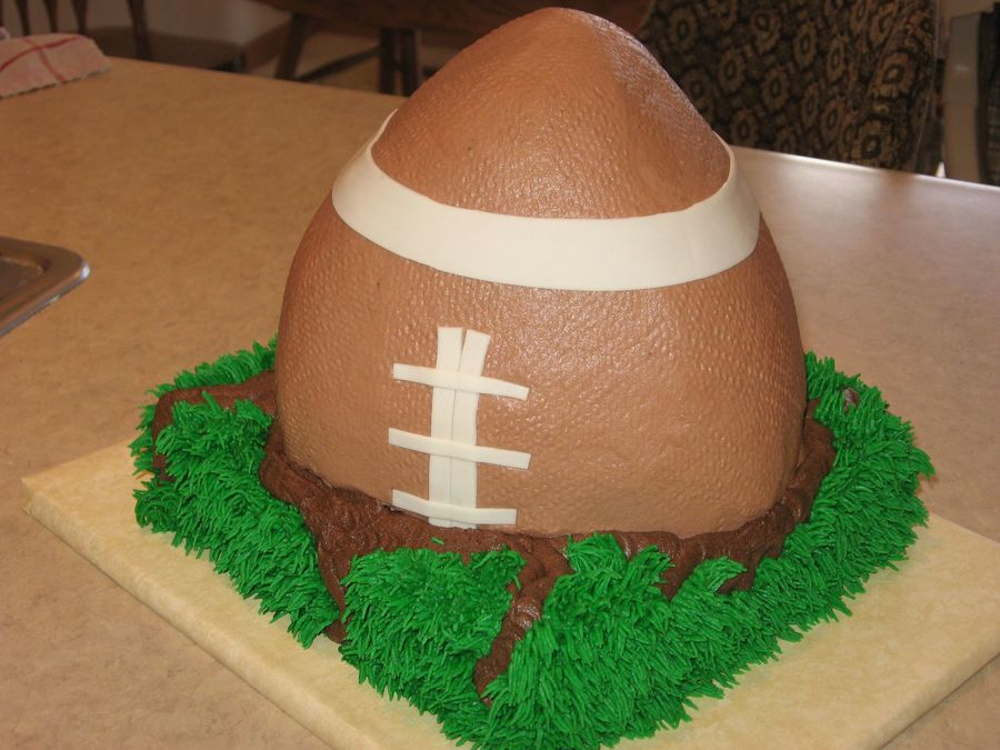 Game Day Cake on Cake Central