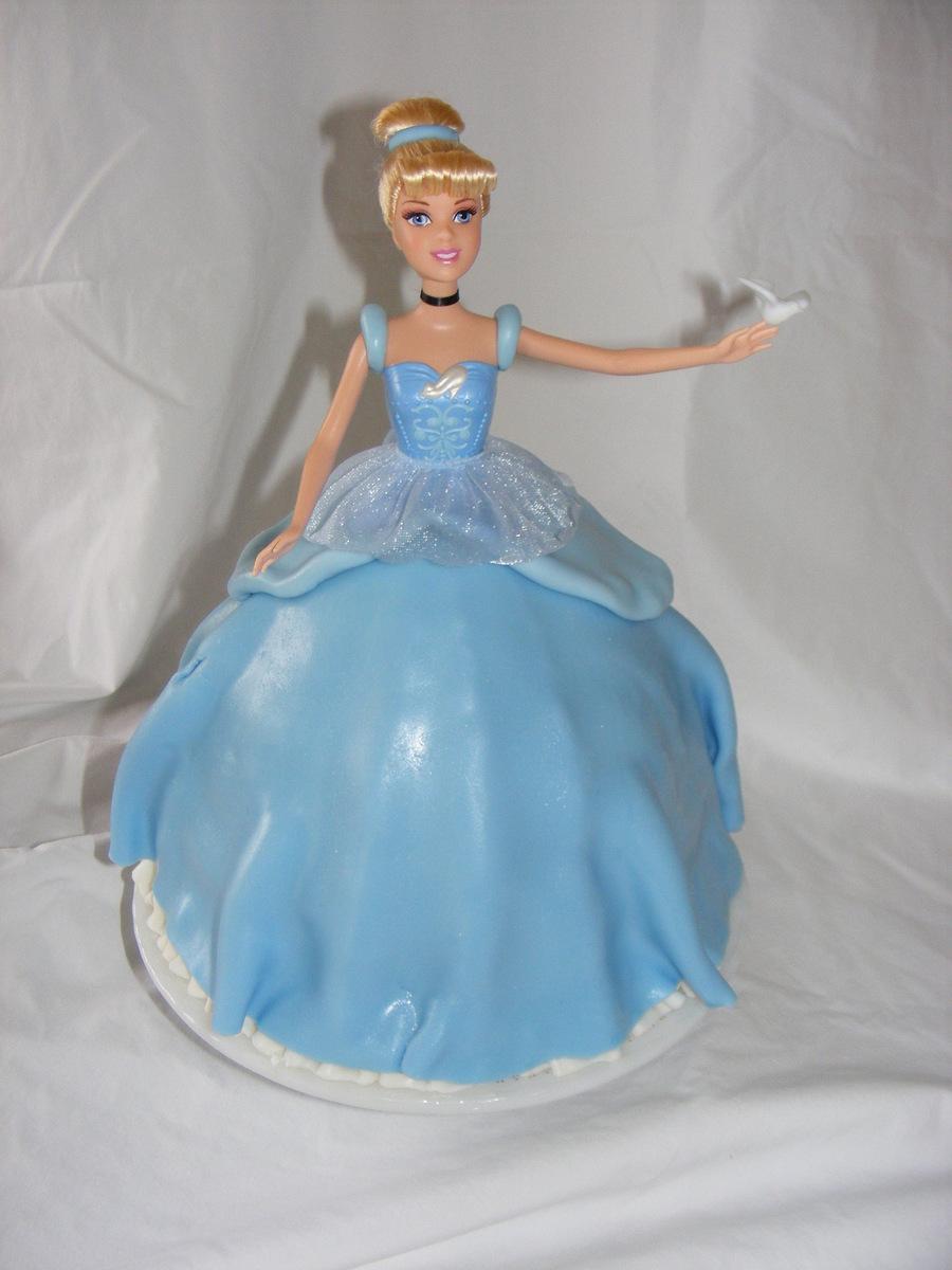 Cinderella Birthday Doll Cake