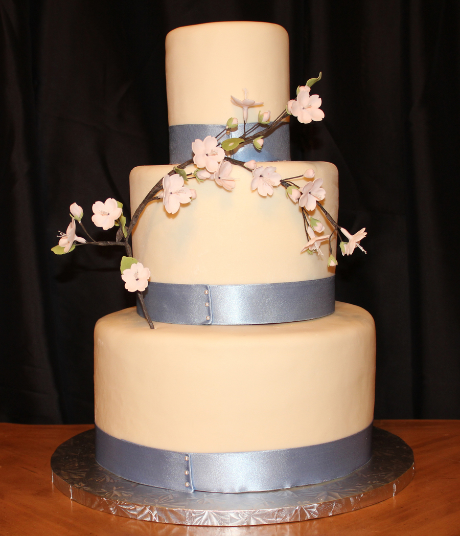 My Very First Wedding Cake on Cake Central