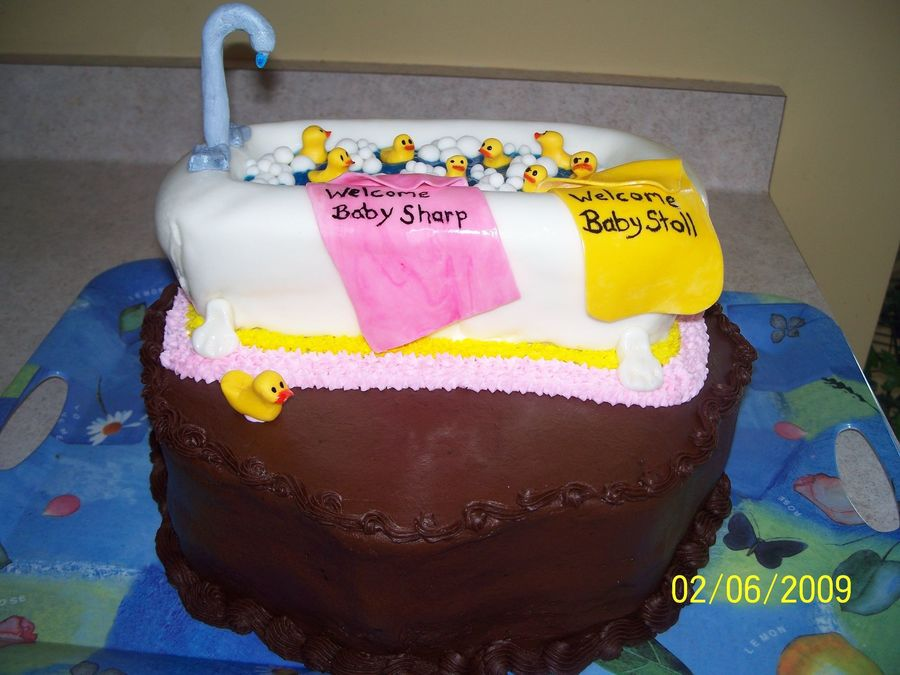 Ducky Baby Shower on Cake Central
