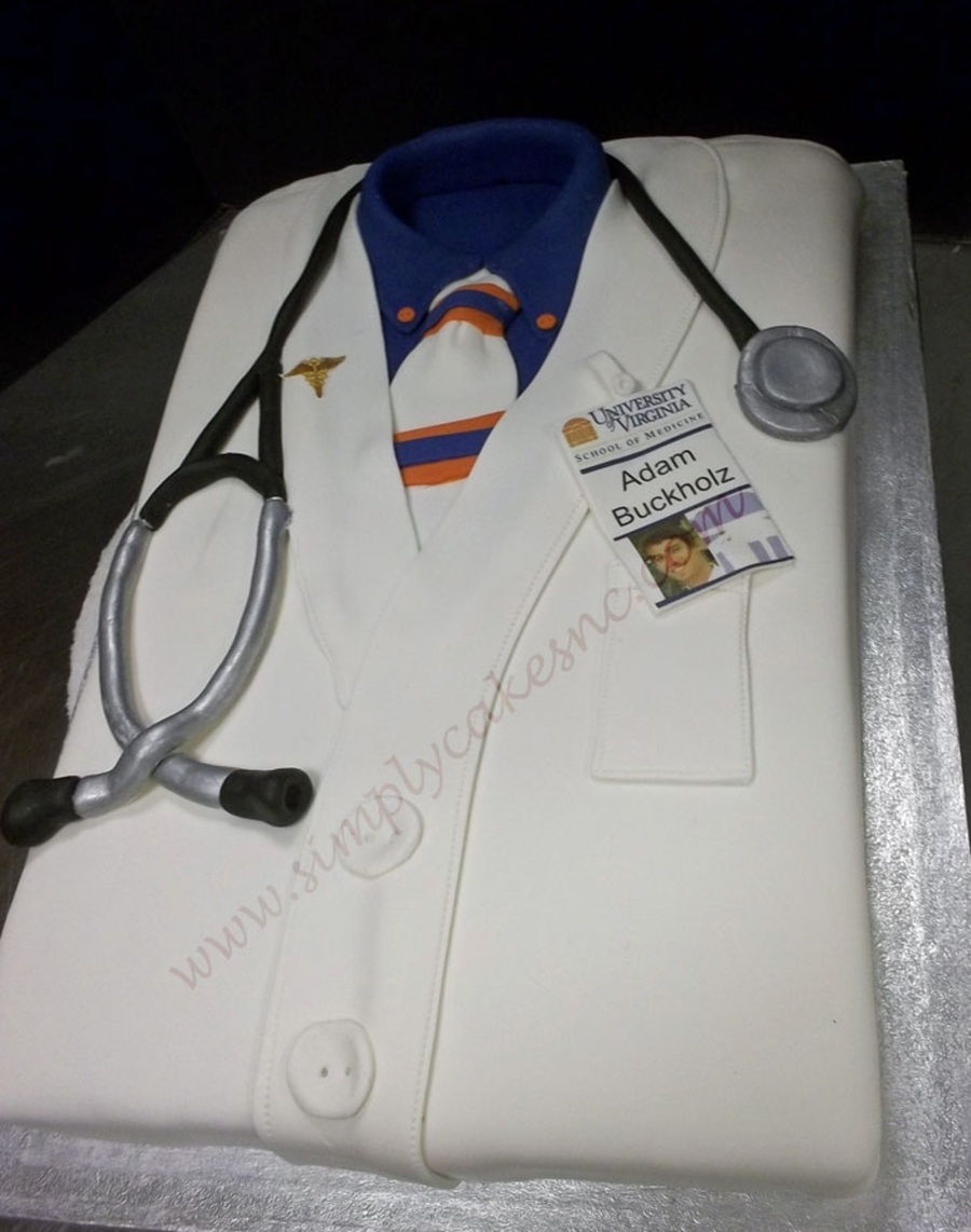 Doctor's Jacket on Cake Central