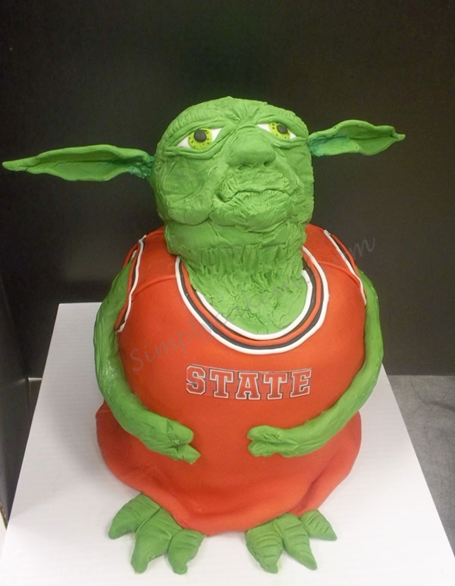 Yoda The Nc State Basketball Player on Cake Central