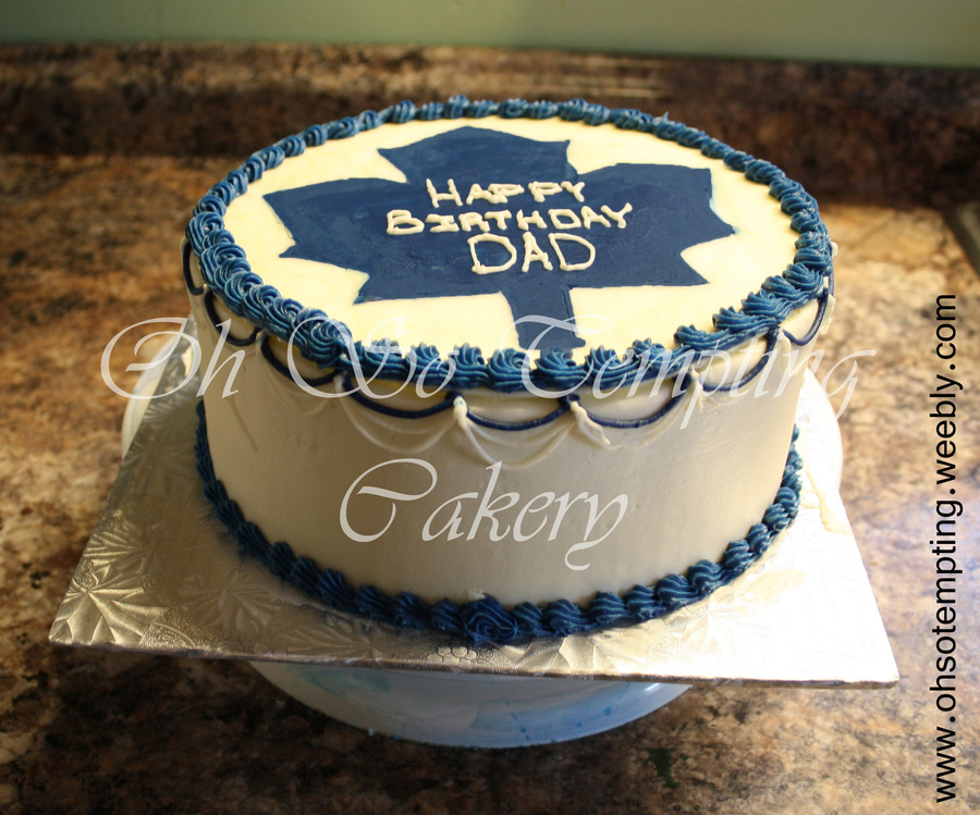 Toronto Maple Leafs Cake on Cake Central
