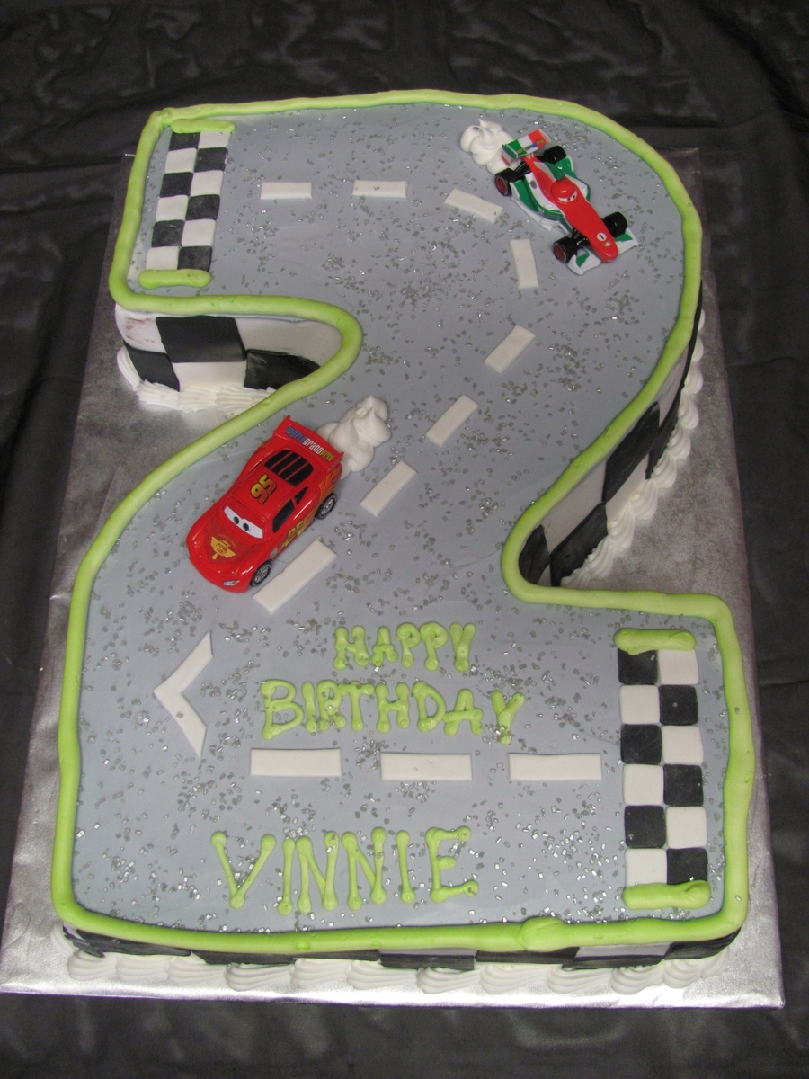 Cars #2  on Cake Central