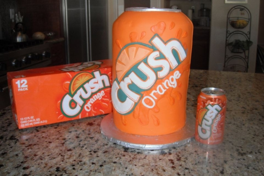 Can Of Crush Groom's Cake on Cake Central