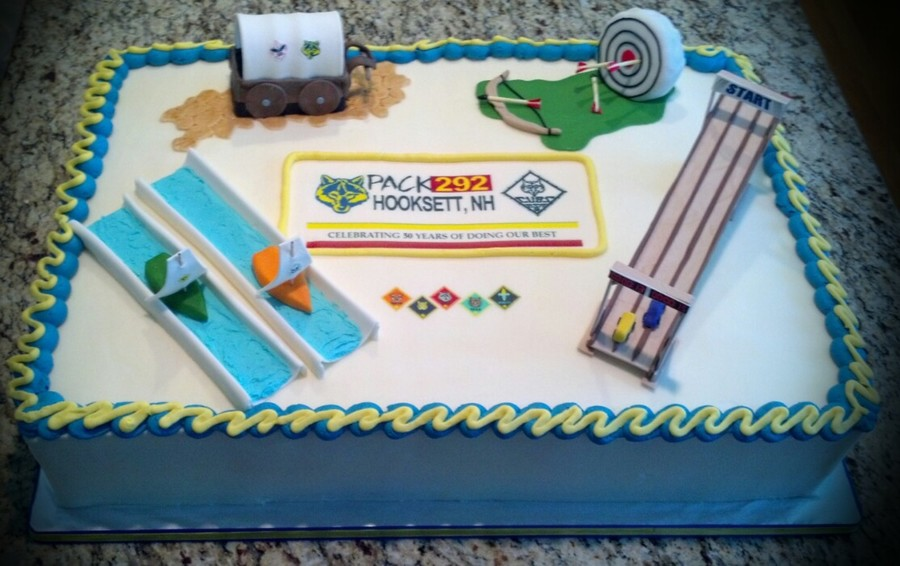 Hooksett Cub Scouts 50Year Anniversary  on Cake Central
