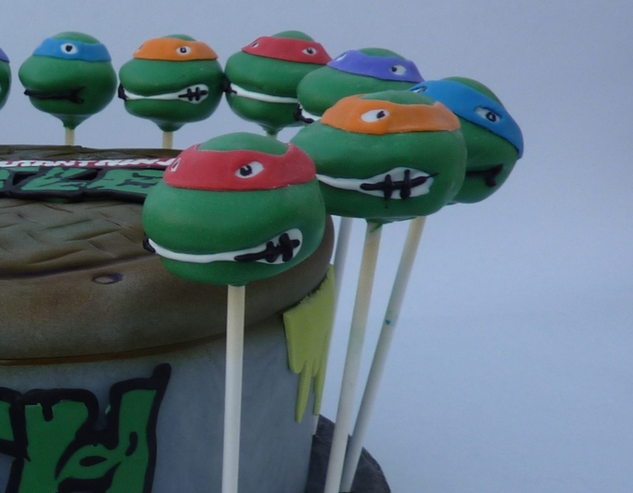 Tmnt Teenage Mutant Ninja Turtles on Cake Central