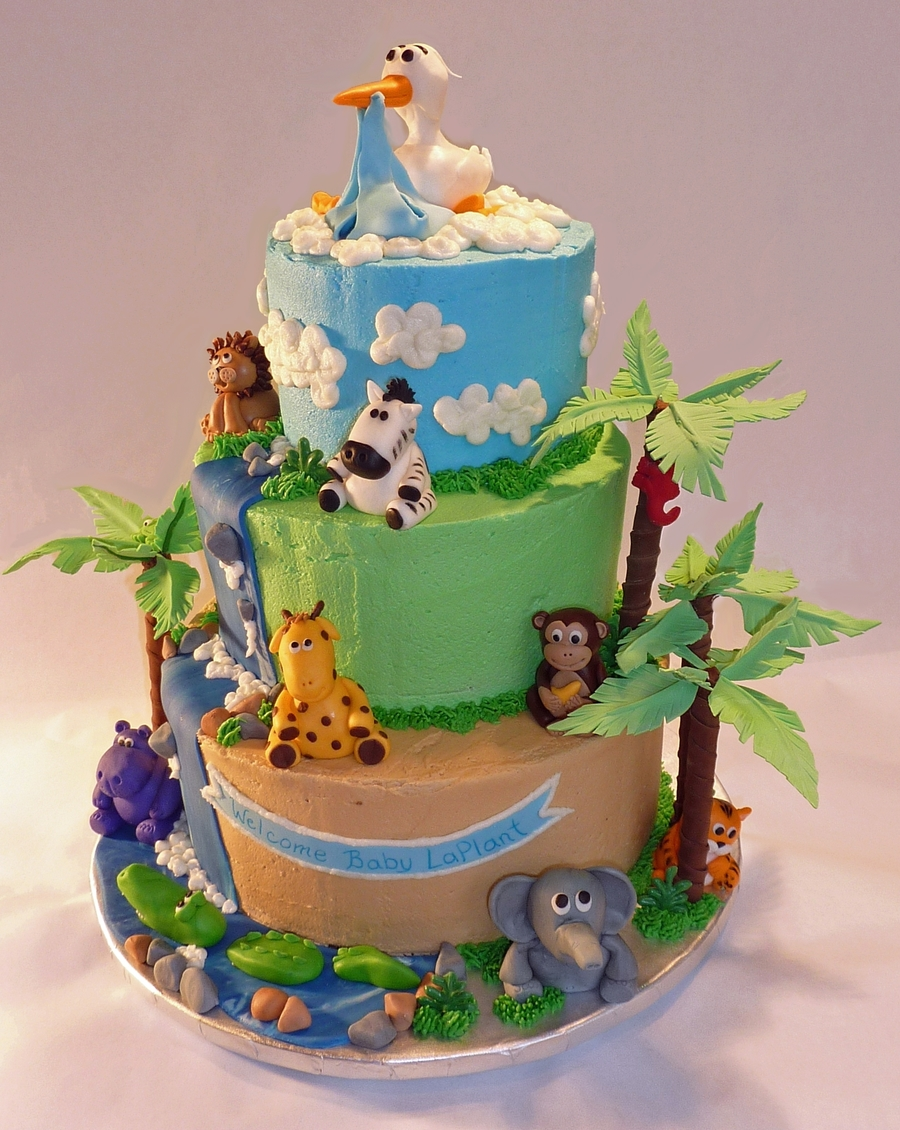 Welcome To The Jungle on Cake Central