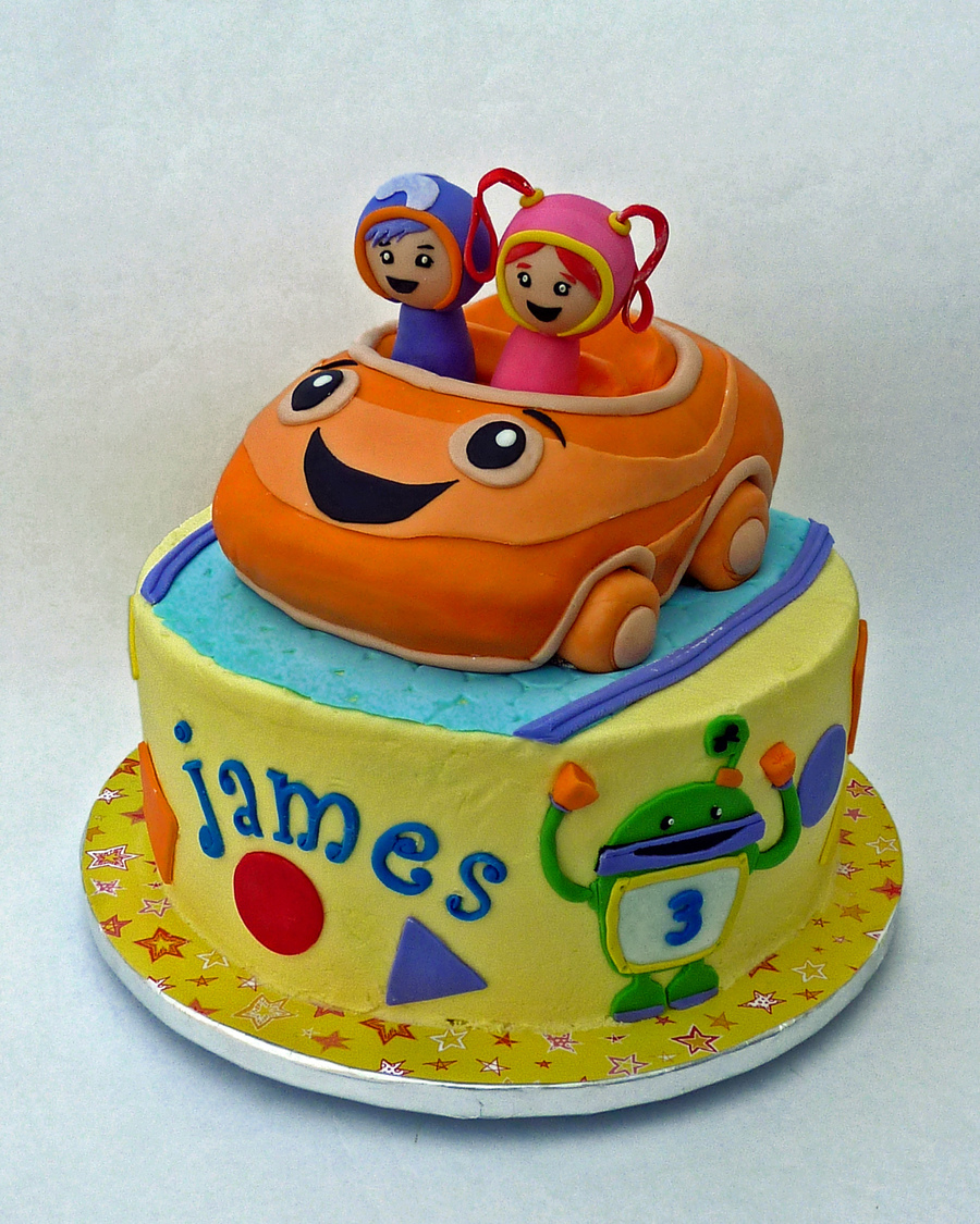 Team Umizoomi on Cake Central