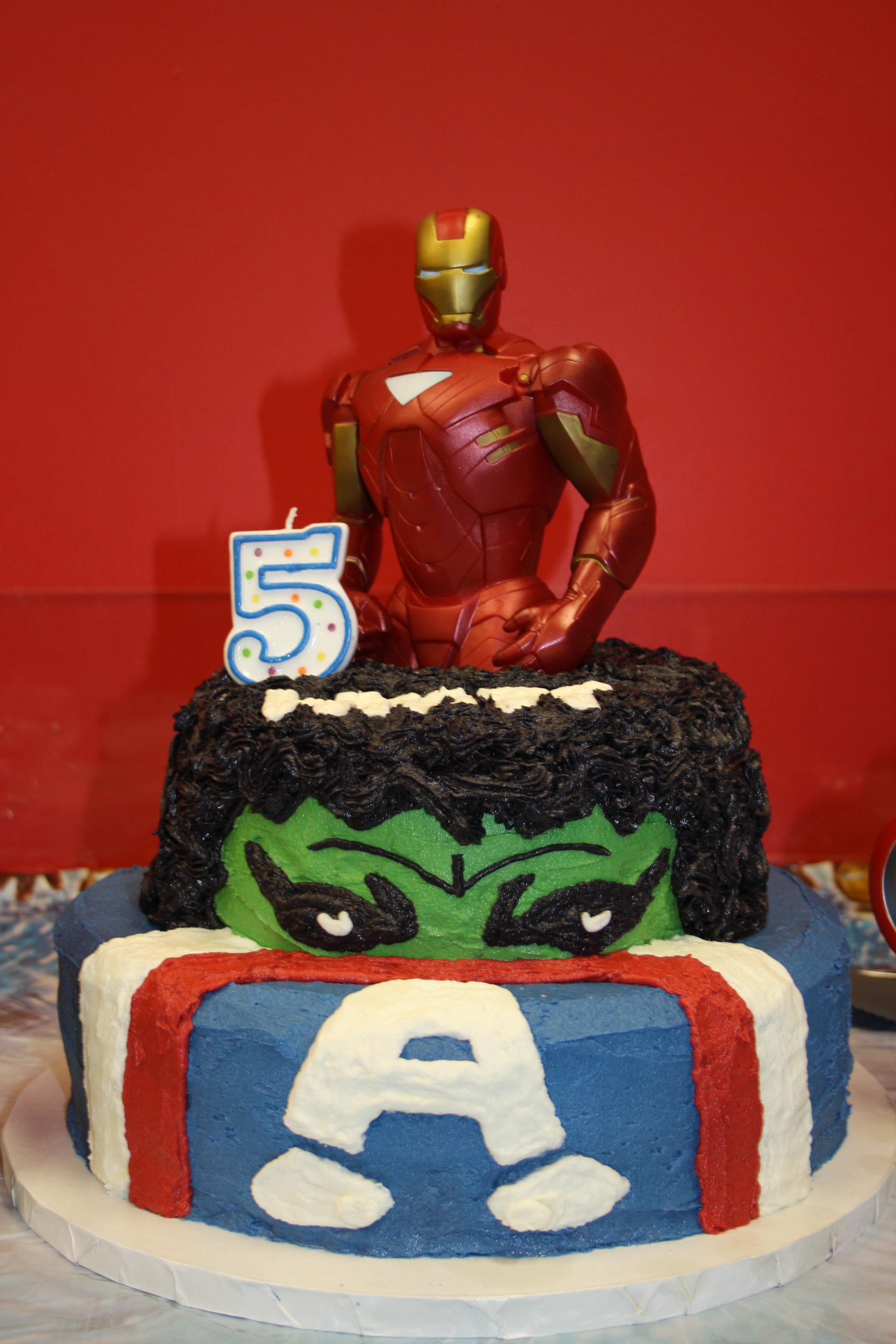 Avengers Birthday Cake Cakecentral Com