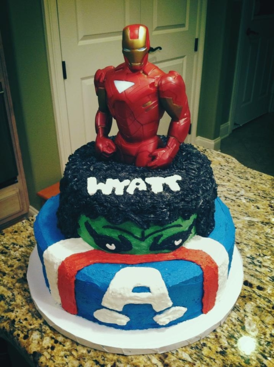 Avengers Birthday Cake Cakecentral