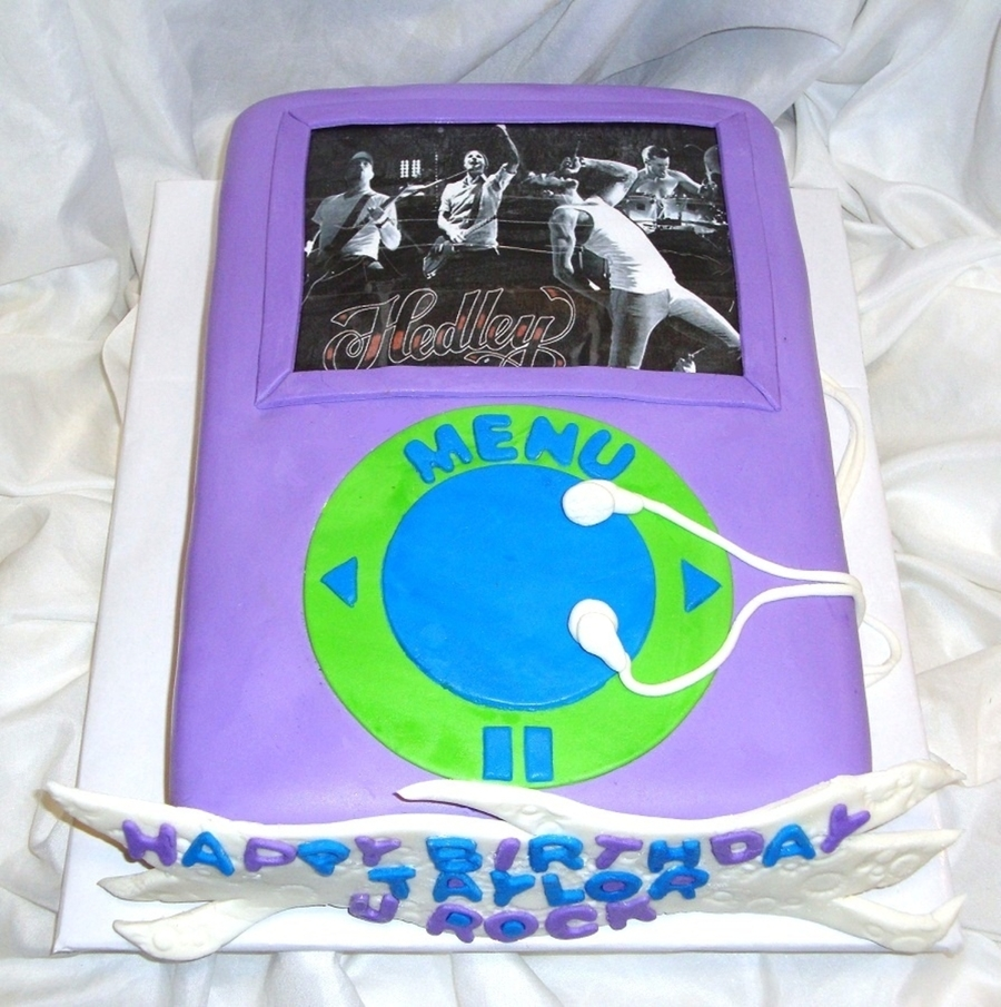 Hedley Ipod on Cake Central