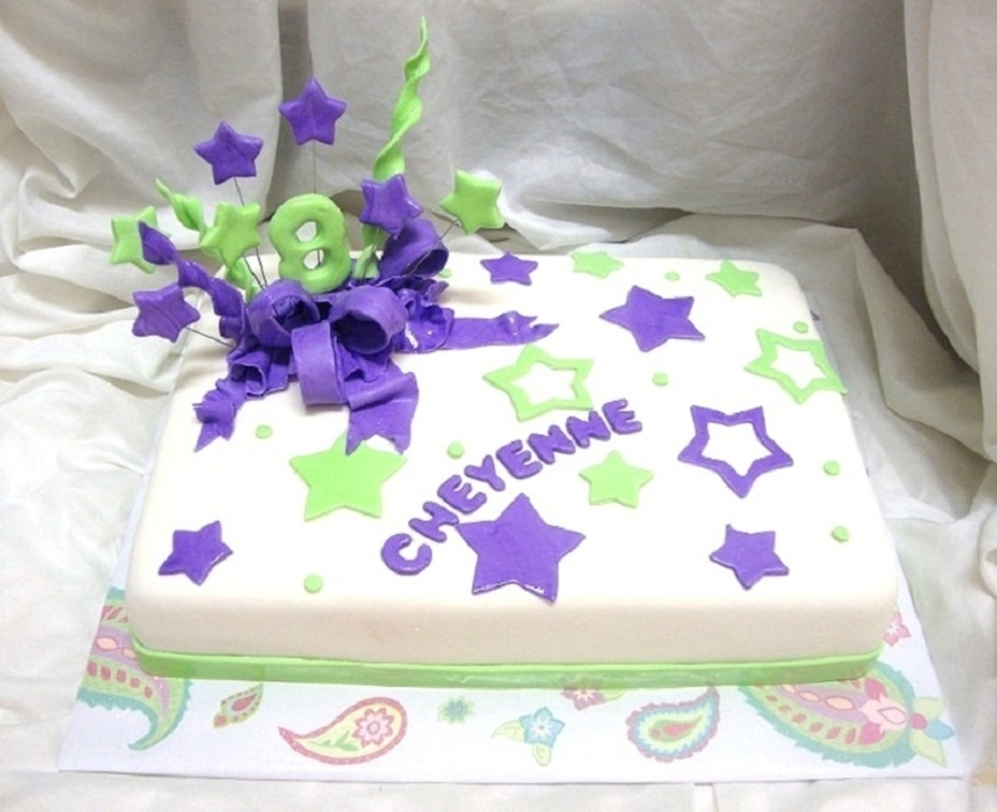 Glow In The Dark Party Cake Cakecentral