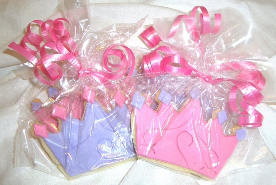 Princess Crown Cookies  on Cake Central