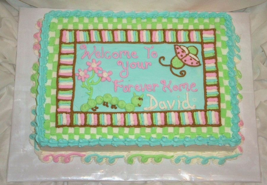 Adoption Cake on Cake Central