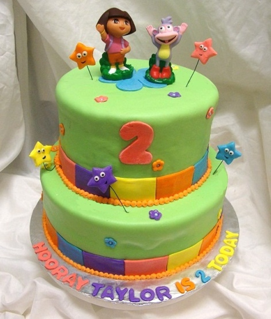 Dora Partytime on Cake Central