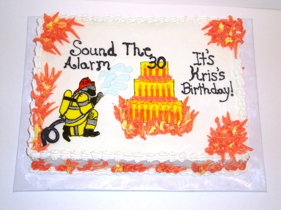 Fire Fighting Birthday on Cake Central