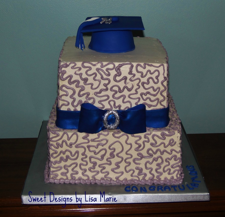 Lee's Graduation Cake on Cake Central