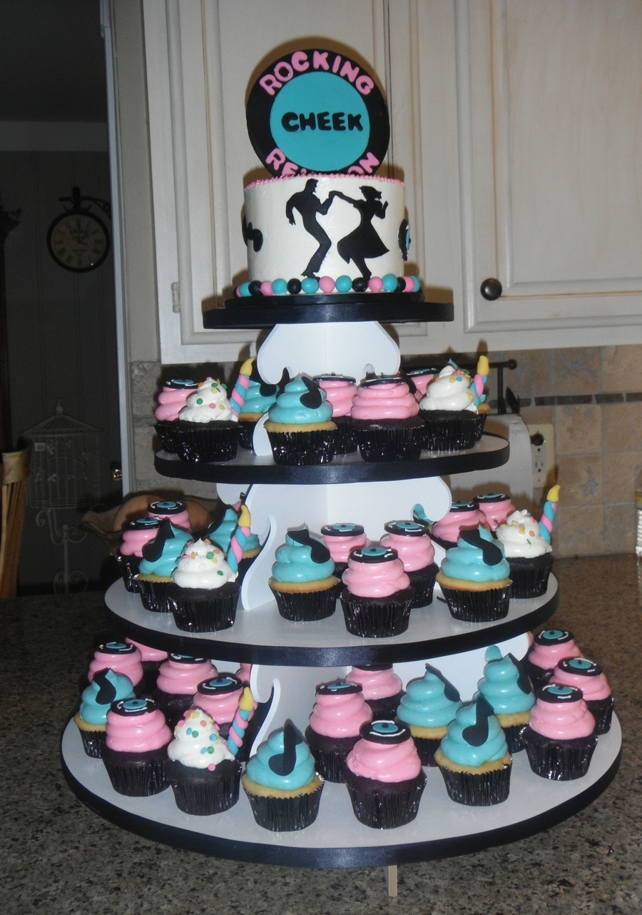 50 S Themed Family Reunion Cakecentral Com