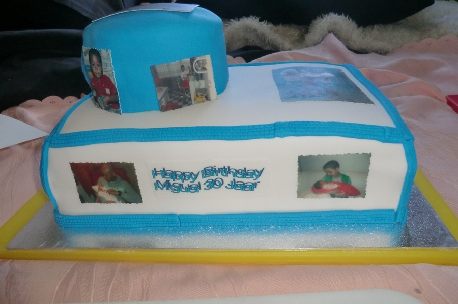 Miguels Photo Cake on Cake Central