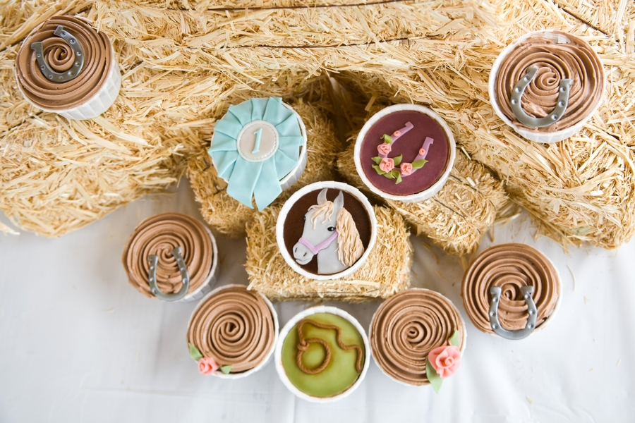 Horse Themed Cupcakes on Cake Central