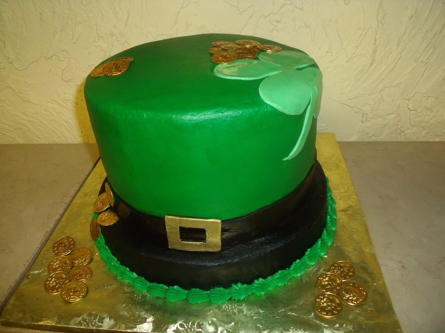 St. Patty Day Wedding on Cake Central
