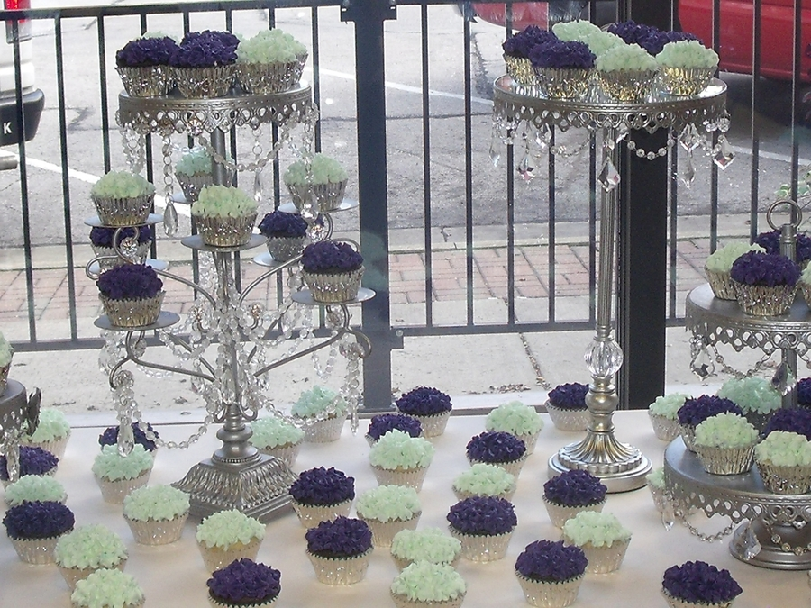 Hydrangea Wedding Cupcakes  on Cake Central