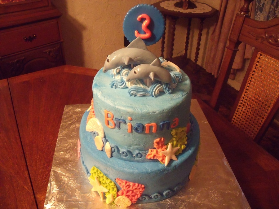 Dolphins Jump on Cake Central