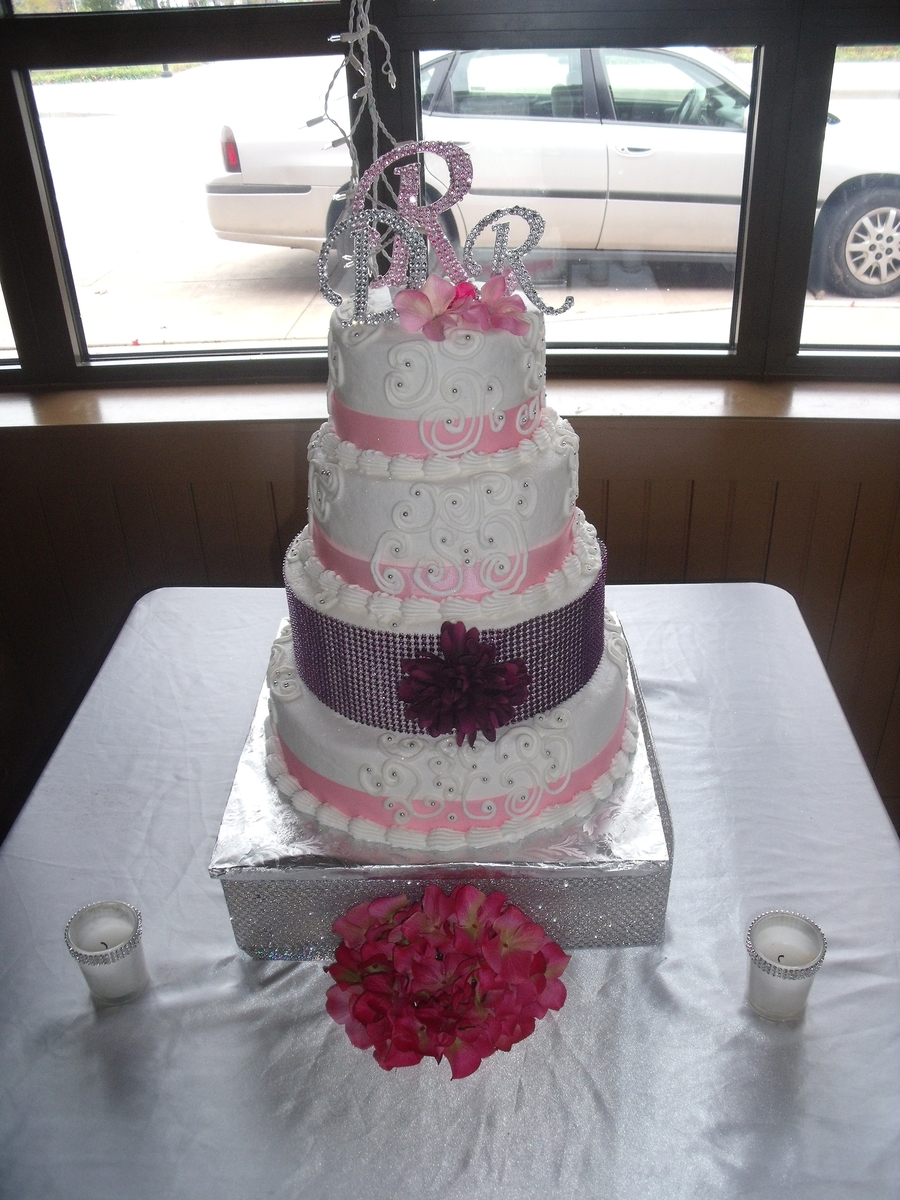 Purple And Pink on Cake Central