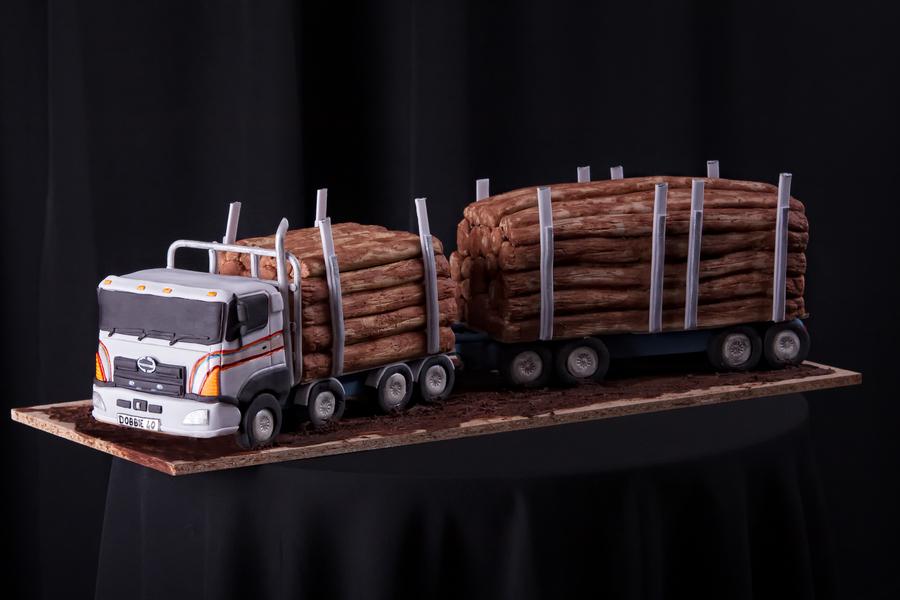 Logging Truck Cakecentral Com