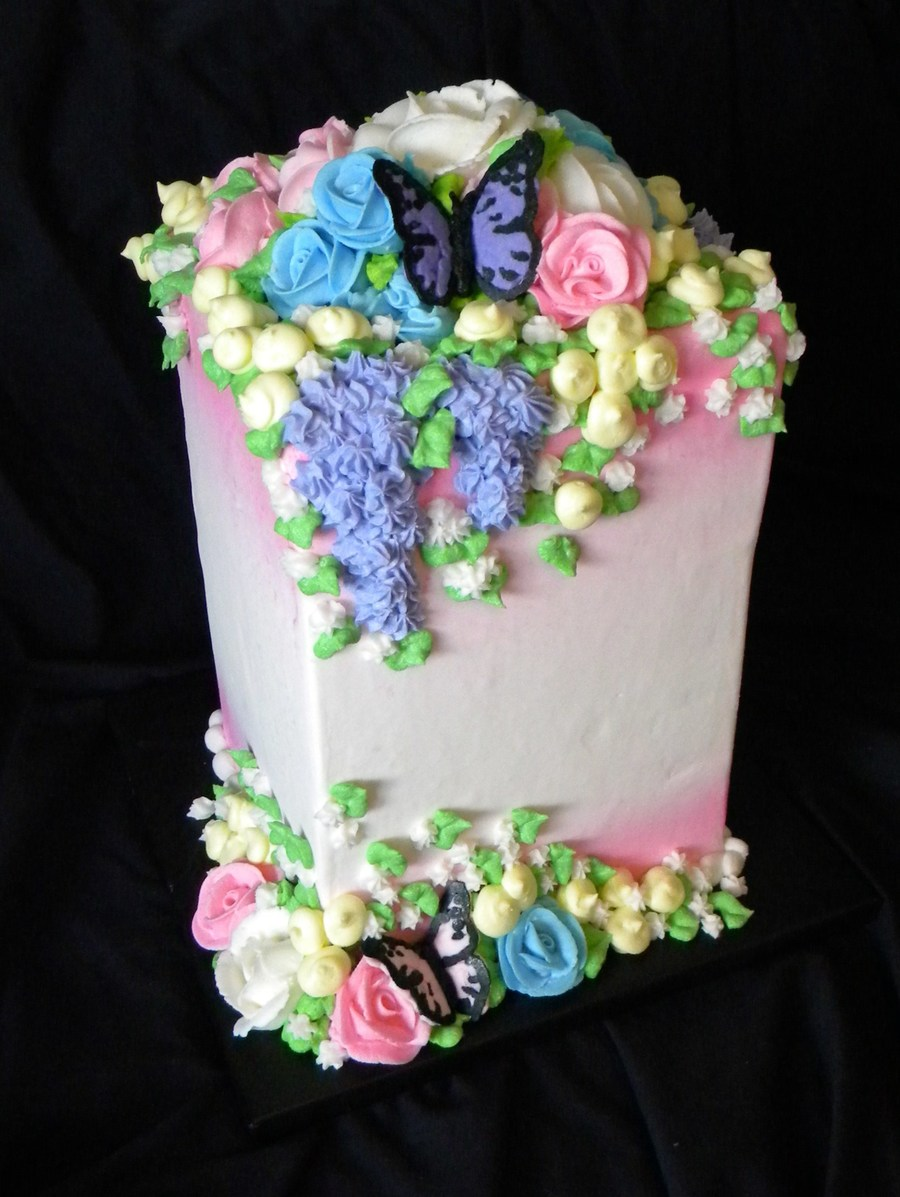 Flowers Etc on Cake Central
