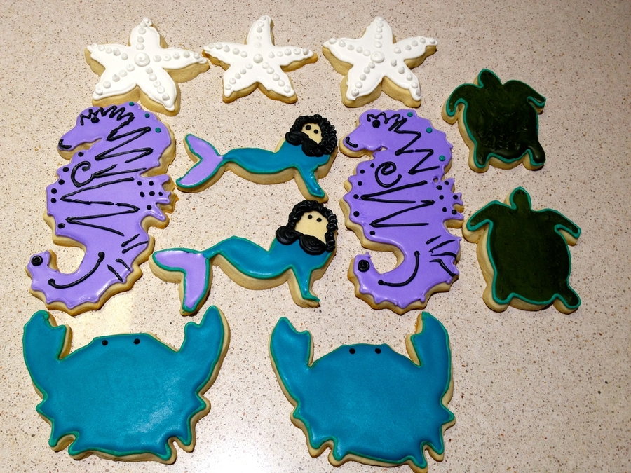 Summer Sugar Cookies  on Cake Central