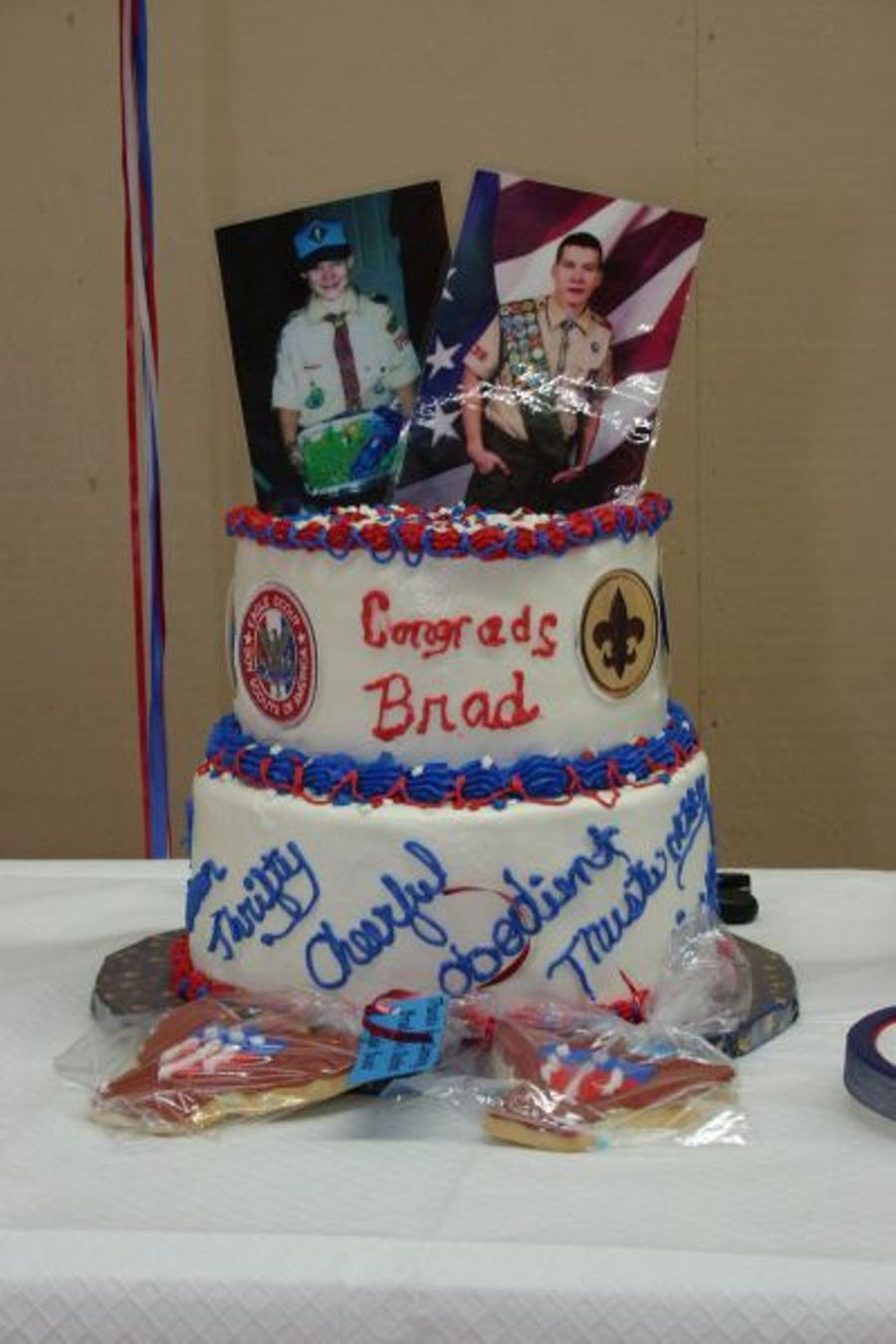 Eagle Scout Cake And Cookie on Cake Central
