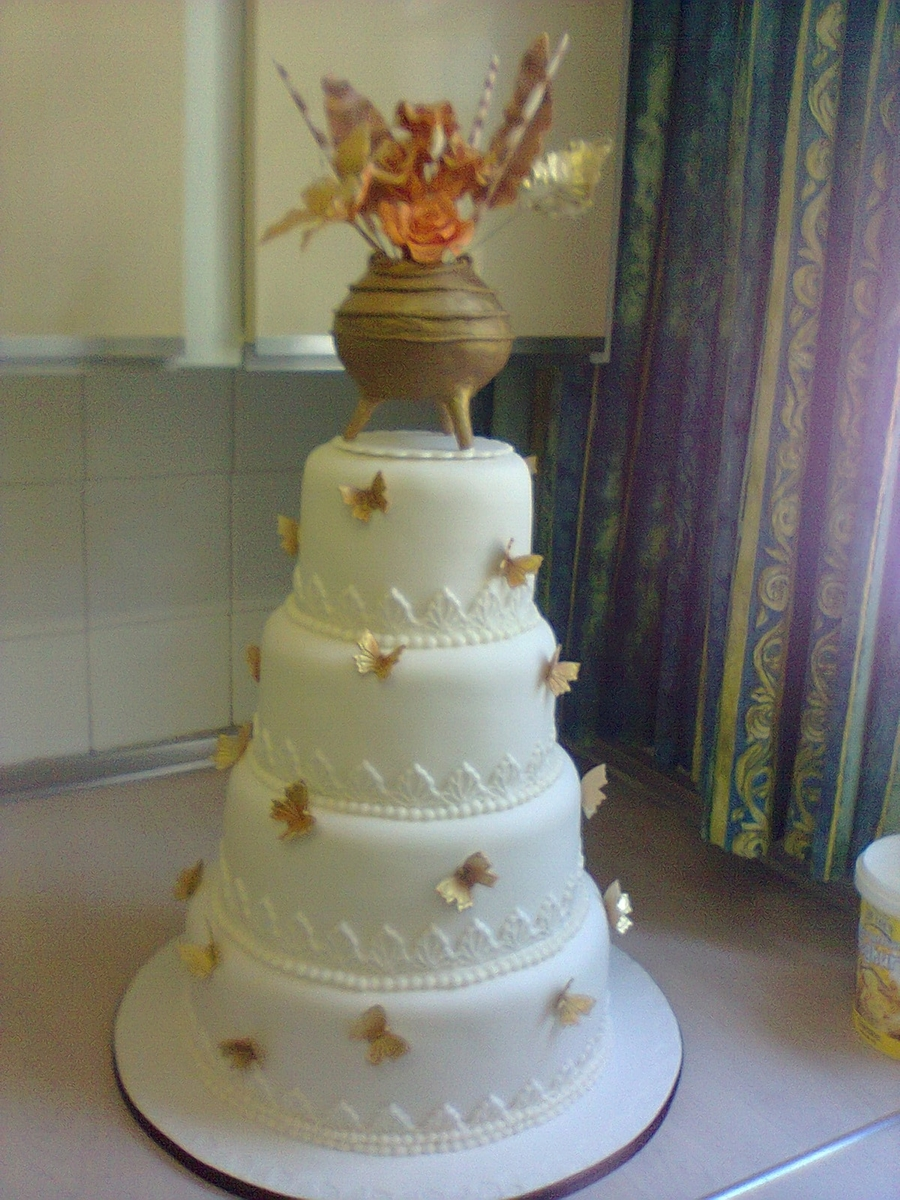 Traditional/butterfly Theme on Cake Central