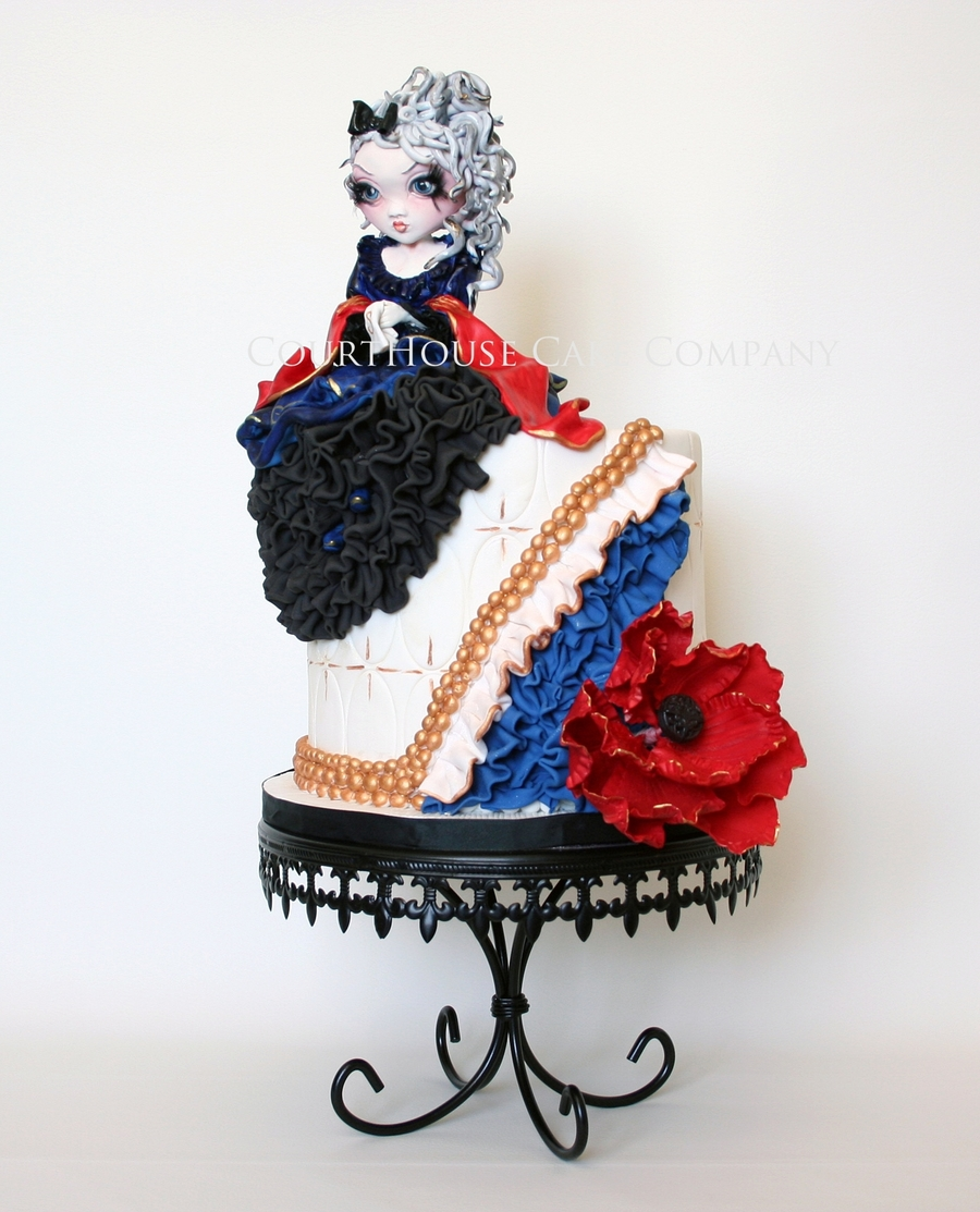 Gothic Princess on Cake Central