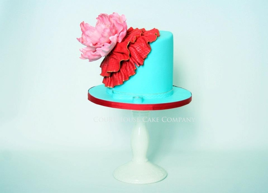 Peony And Ruffles on Cake Central
