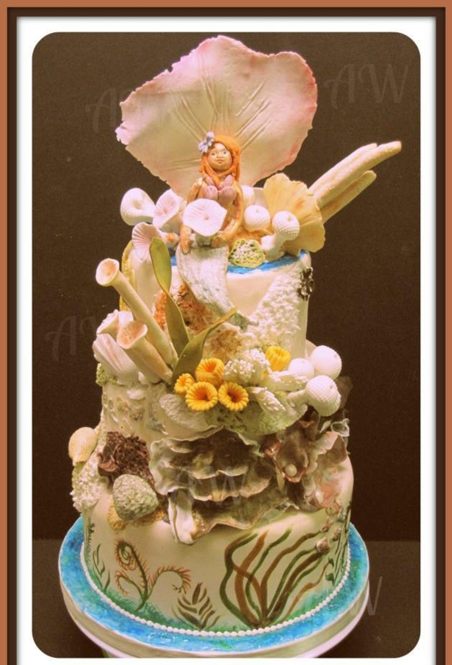 Under The Sea Cake on Cake Central