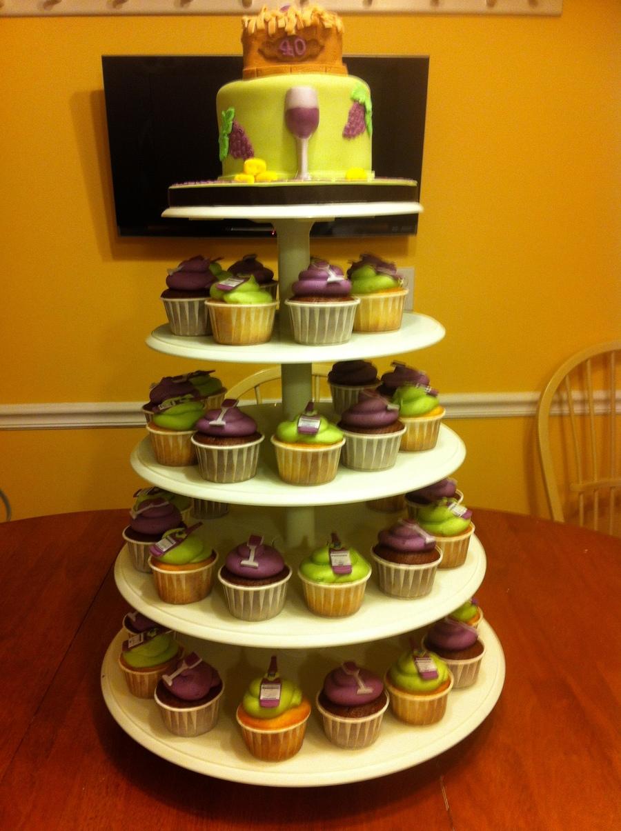 Inch Cake And Cupcake Stand