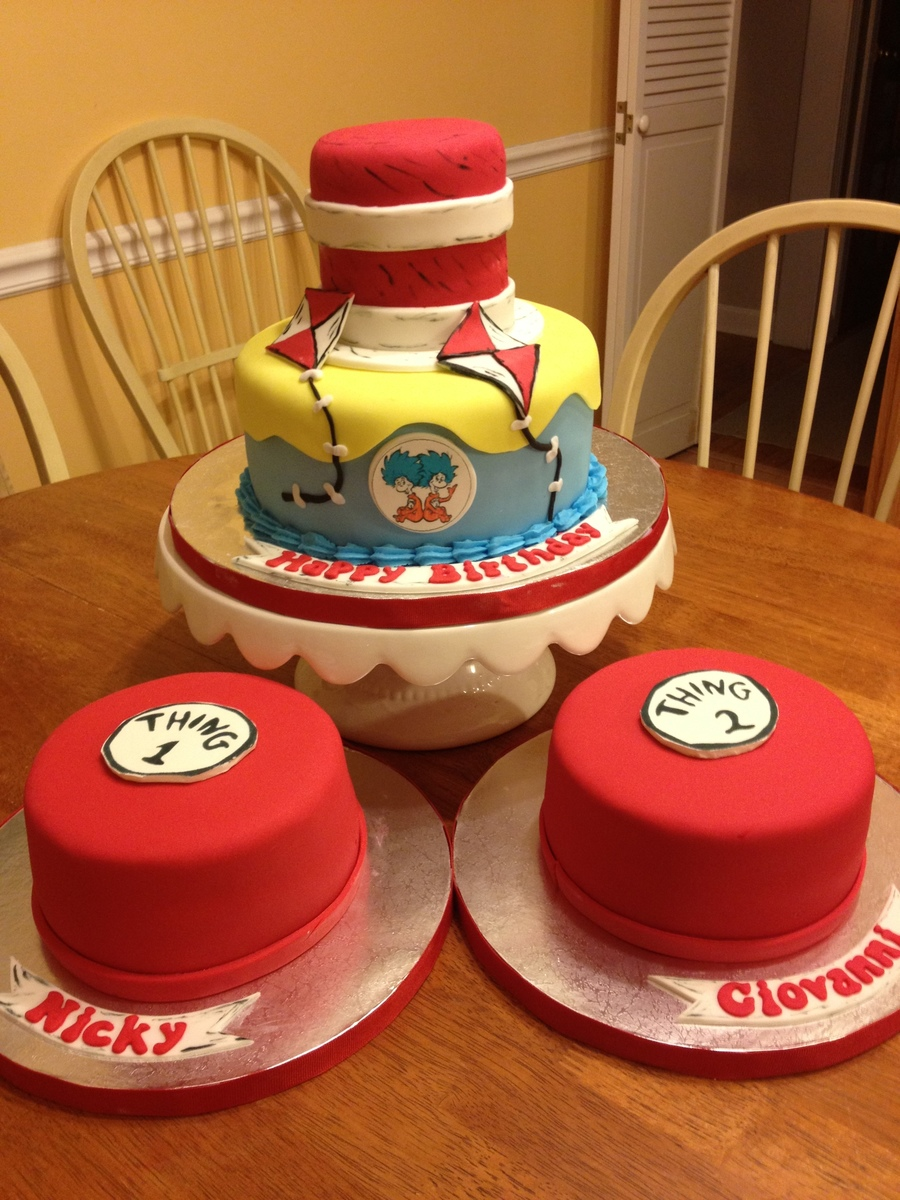 Cat In The Hat Cake on Cake Central