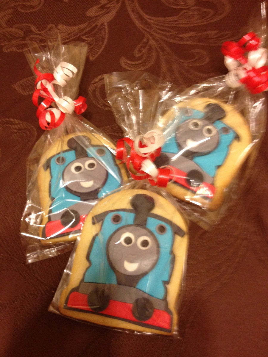 Thomas The Train Cookies  on Cake Central