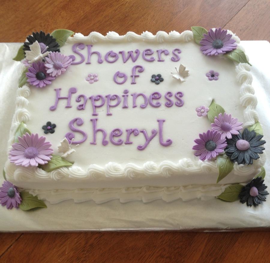 Bridal Shower Cake - CakeCentral.com