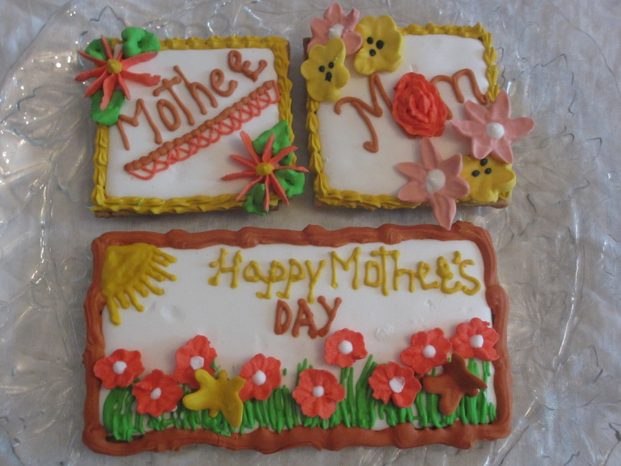 Mothers Day Cookies  on Cake Central
